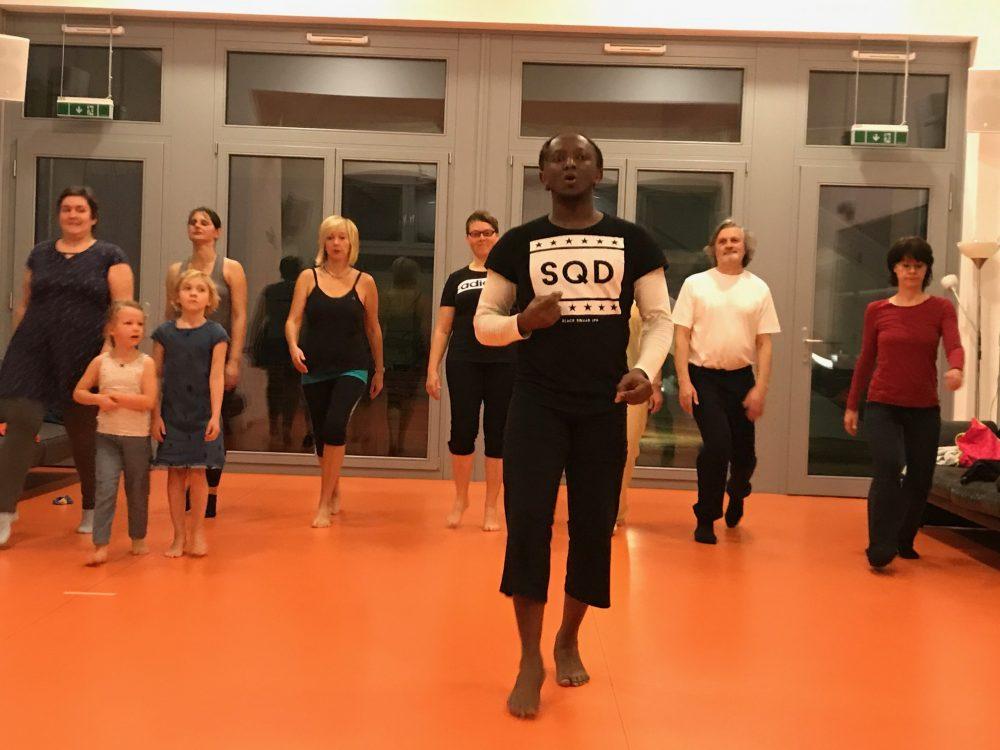 Afro Dance Seestadt Wien, Dienstag